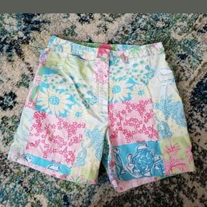 Lilly Pulitzer Vintage High Waisted Shorts 2